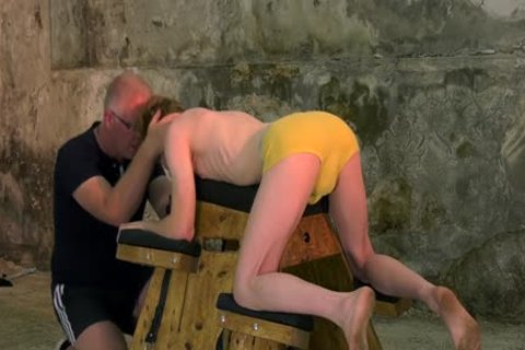tied Up Sub With Mouthfold Endures torment By Sebastian Kane