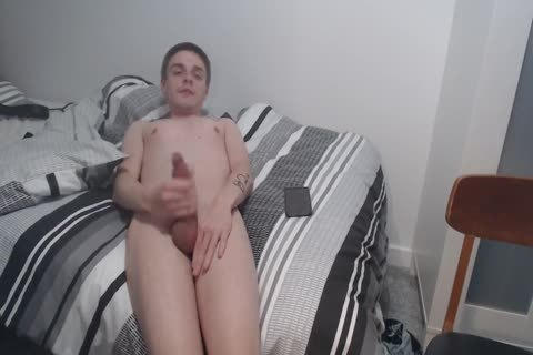 stroking To Shivering orgasm