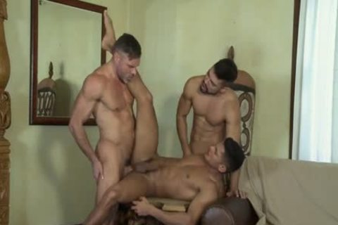 FLIP FLOP threesome WITH anal TO mouth AND double penetration