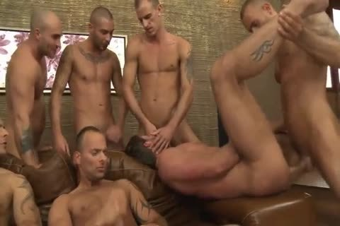 Toby Dutch acquires poked In A Seven-chap raw gang group-sex
