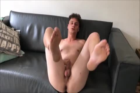 mature lad Satisfies young chap In POV