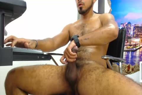 Will - fine 27yo shaggy boy From Chile Strokes His dick