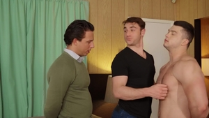 DrillMyHole.com: Young twink Collin Simpson face fucking video