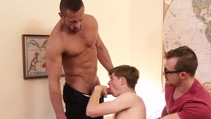 FamilyDick.com: Young Travis Berkley first time groped