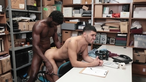 YoungPerps: Angel Duran and Devin Trez striptease in office