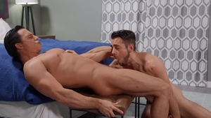 DrillMyHole: Twink boy Dante Colle tongue kissing sex scene