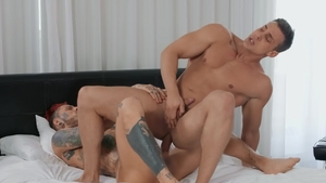 Drill My Hole: Alex Mecum exposing big dick