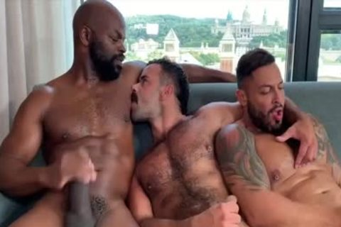 I'm A Fan Of His Way Of sucking And Being Bottom: Damn So slutty threesome
