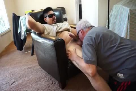 older man sucking And rimming Younger