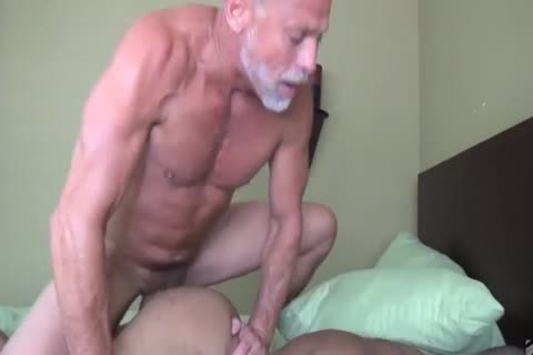 daddy man pounds His Muscled black Toyboy