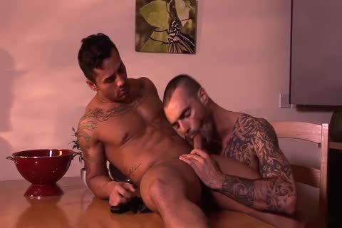 Bruno Bernal And Issac Jones Hung Suited And lustful