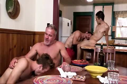 fellows Have pleasure With Step-daddy And Grampa