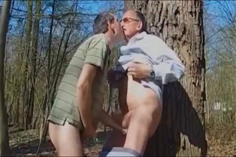 DADDY pounding grandpa IN THE WOODS 3