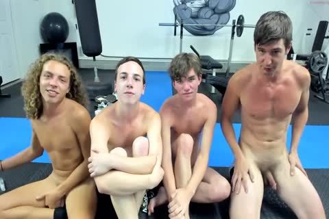 Live Gym guys pound gay Tube Performance