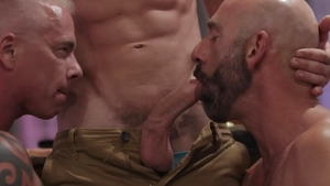 IconMale - Shaved big penis Link Parker orgy