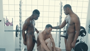 NoirMale: American Miller Axton among Colby Tucker anal sex