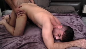 IconMale - College guy Mason Lear tease big penis