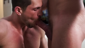 IconMale: Muscled Roman Todd and Jett Rink blowjob sex tape