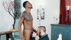 NoirMale.com - Muscled Ziggy Banks & ebony Marquee D Angelo