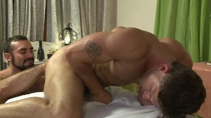IconMale - Roman Todd and Jaxton Wheeler fucks in the ass