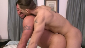 IconMale.com: Muscle mature Hugh Hunter needs nailed rough HD