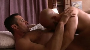 Icon Male: DILF Damon Andros reality rimjob in HD