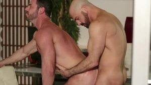 Icon Male: Hairy Adam Russo & Billy Santoro rimjob video