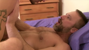 IconMale - Ty Roderick beside Dirk Caber anal