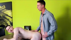 Next Door Buddies - Caucasian Quin Quire throat fuck