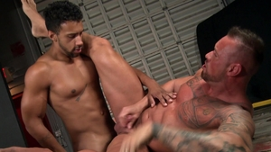 Extra Big Dicks - Jay Alexander and Michael Roman rimming