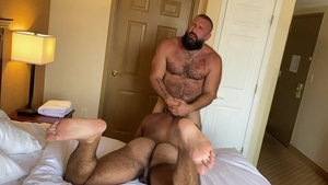 ExtraBigDicks: Alex Tikas is really hairy gay