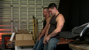 MenOver30: Darin Silvers as well as Aspen dick sucking