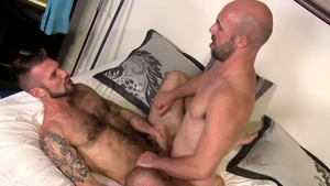 MenOver30.com: Inked Chris Harder with caucasian Lex Ryan