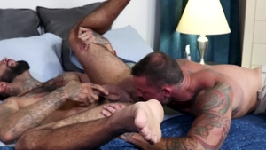 MenOver30.com: Rikk York nailed by big cock gay Sean Duran