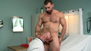 PrideStudios.com - Brunette Bennett Anthony cum on face