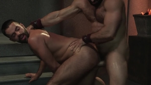 RagingStallion: Bodybuilder Jaxton Wheeler cumshot