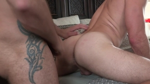 Falcon Studios: Tattooed Tyler Roberts rimming sex tape