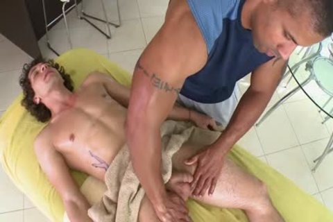 Floppy Haired lad receives nailed