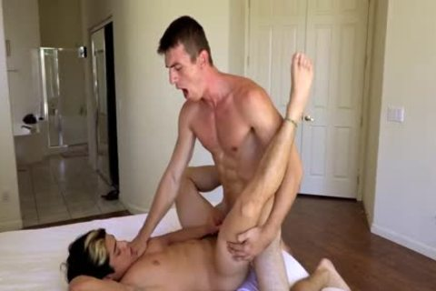 Alpha Male Bryce Goes unrepining For Channing's large cock