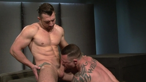 Raging Stallion: Jimmy Durano & Seven Dixon rimming