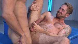 Raging Stallion - Rough nailing together with inked Adam Ramzi