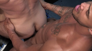 RagingStallion - Hairy Mick Stallone bodybuilder rimming porn