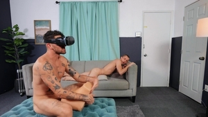 DrillMyHole.com - Chris Damned with Theo Brady toys action