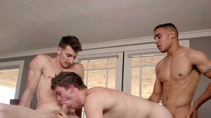 NextDoorStudios - Muscled european bareback anal interracial